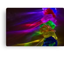 Colored Light Gems Canvas Print