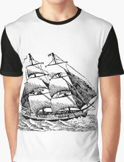 Classic Sailing Ship 01 Graphic T-Shirt