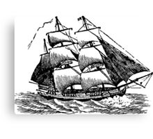 Classic Sailing Ship 01 Canvas Print