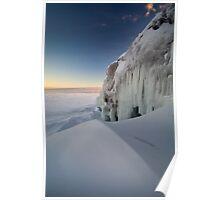 Drifting - Lake Superior Poster