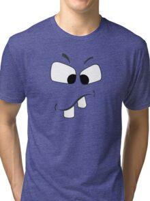 Cute Teeth Illustrated Tee Shirts Tri-blend T-Shirt