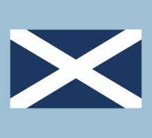 SCOTTISH FLAG SALTIRE Scots PURE & SIMPLE by TOM HILL - Designer