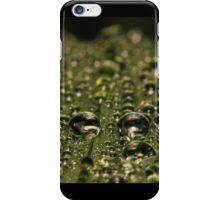 Leaf Water Droplets iPhone Case/Skin