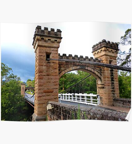 Hampden Bridge, Kangaroo Valley, Australia Poster