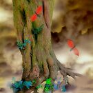 Magic Trees and Butterfly Leaves by Christine Lake