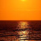 Low Sun on Sea by Steve