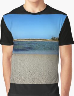 Tranquil Blue Graphic T-Shirt