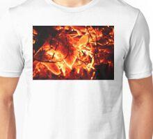 Flaming Leaves Unisex T-Shirt