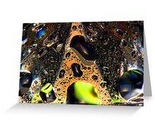 Diamond Abstract Greeting Card