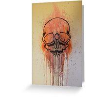 Third-Eye Skull #1 Greeting Card
