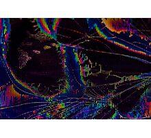 Broken LCD Screen Photographic Print