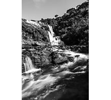Bakers Falls, Sri Lanka Photographic Print