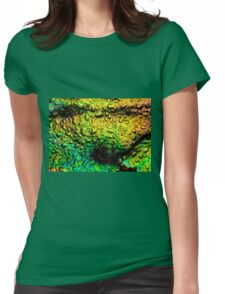 Intense Iridescence Womens Fitted T-Shirt