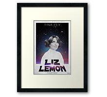 Liz Lemon is a princess ! Framed Print