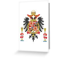 The Coat of Arms of Charles V Greeting Card
