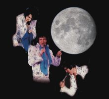 Three Elvis Moon by cyberdew41