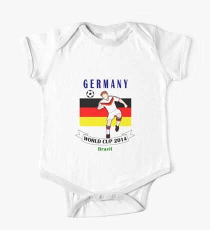 Germany World Cup 2014 Team One Piece - Short Sleeve
