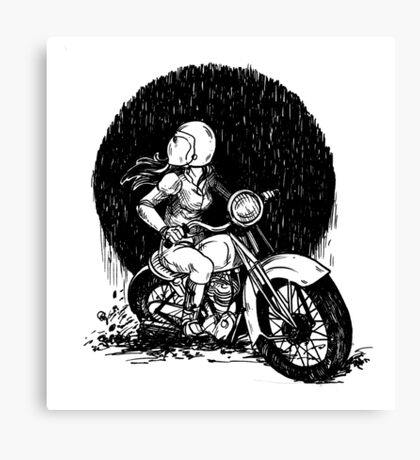Women Who Ride- We like Dirt and We got Titties Canvas Print