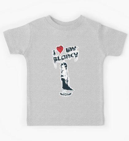 I Heart my Blanky Kids Tee