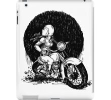 Women Who Ride- We like Dirt and We got Titties iPad Case/Skin