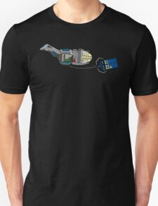 TARDIS in tow Unisex T-Shirt