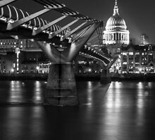 Bridge to the Past, London by Cherrybom