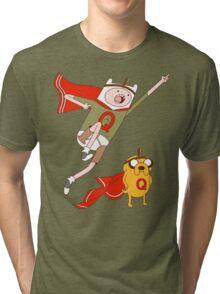 Adventures With Quailman - As Seen on Ript! Tri-blend T-Shirt