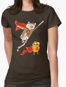 Adventures With Quailman - As Seen on Ript! Womens Fitted T-Shirt