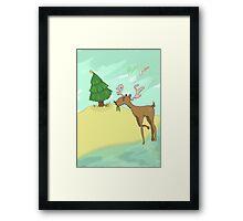 Christmas Card 2015 Framed Print