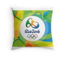 Rio 2016 Throw Pillow