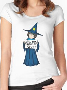 Homeless Wizard Tee Women's Fitted Scoop T-Shirt