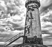 Abandoned Light #1, Talacre by Cherrybom