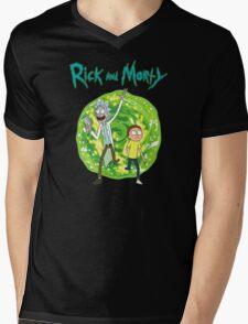 Rick and Morty season 1 Mens V-Neck T-Shirt