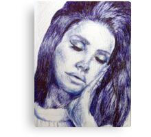 Celebrity Portrait Canvas Print
