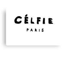 CELFIE-PARIS Canvas Print