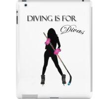 Diving Is For Divas iPad Case/Skin