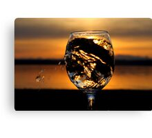 The Burning Goblet Canvas Print
