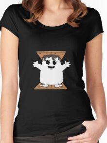 Adipose Smores! Women's Fitted Scoop T-Shirt