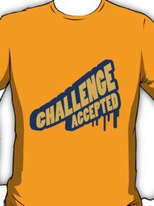 Graffiti Design Challenge Accepted T-Shirt