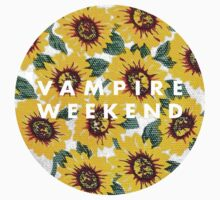 Vampire Weekend American Apparel Sunflower by vompires