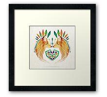 foxes love Framed Print
