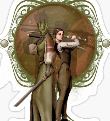 Madama Vastra and Jenny Flint Sticker