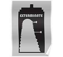 Dalek within Tardis Poster