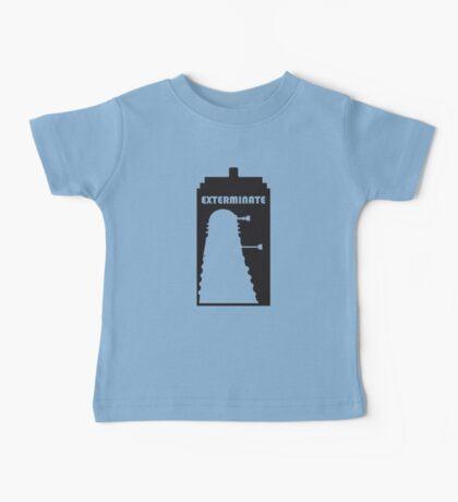 Dalek within Tardis Baby Tee
