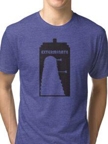 Dalek within Tardis Tri-blend T-Shirt