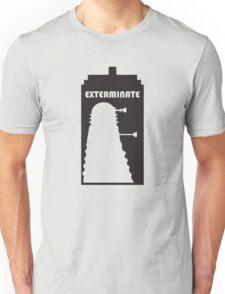 Dalek within Tardis Unisex T-Shirt