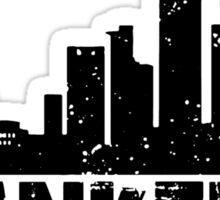Frankfurt Skyline Sticker