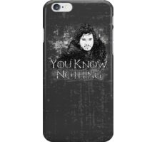 Jon Snow ( Game of Thrones )  iPhone Case/Skin