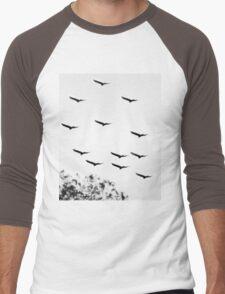 Bird of a feather Men's Baseball ¾ T-Shirt