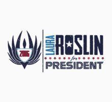 Roslin for President by thepisforpenis